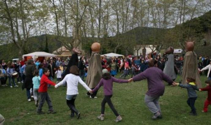 Celebració de l'Aplec de l'Erola d'Hortsavinyà
