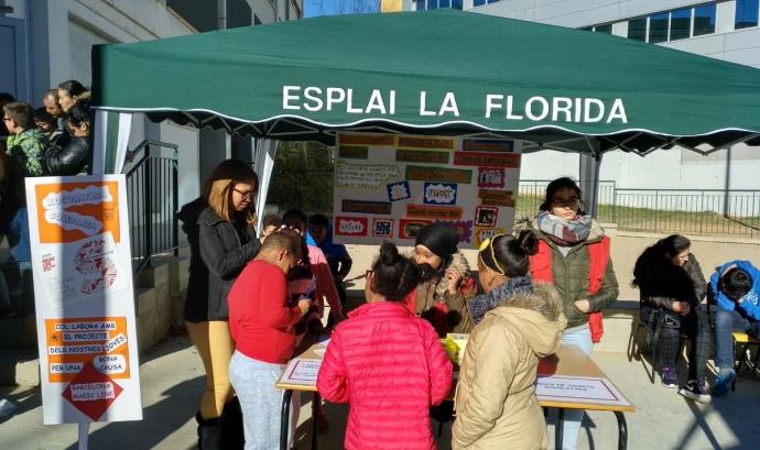 Fent difusió del projecte de participació en la Barcelona Magic Line