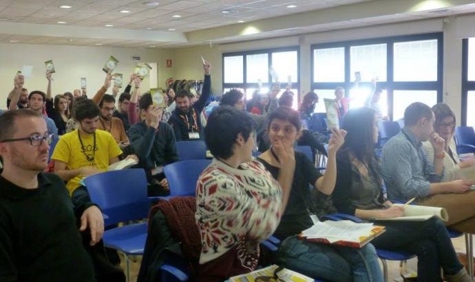 Fotografia d'una altra Assemblea General Ordinària del CNJC