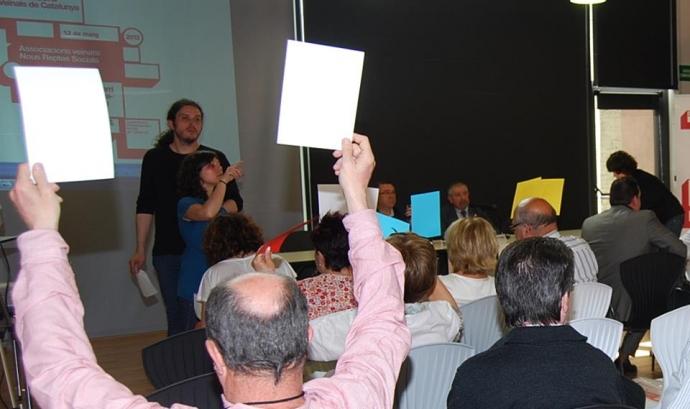 Assemblea de la CONFAVC. Font: Pàgina de Facebook de la CONFAVC