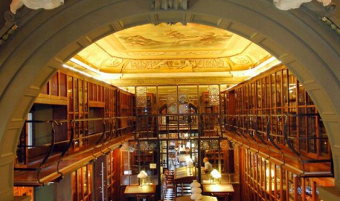 La biblioteca de l'Ateneu Barcelonès. Font: Ateneu Barcelonès