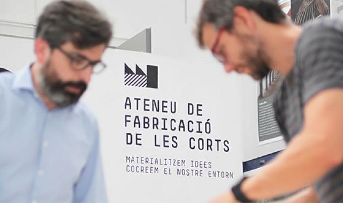 Ateneu de Fabricació de Les Corts Font: Ateneu de Fabricació de Les Corts