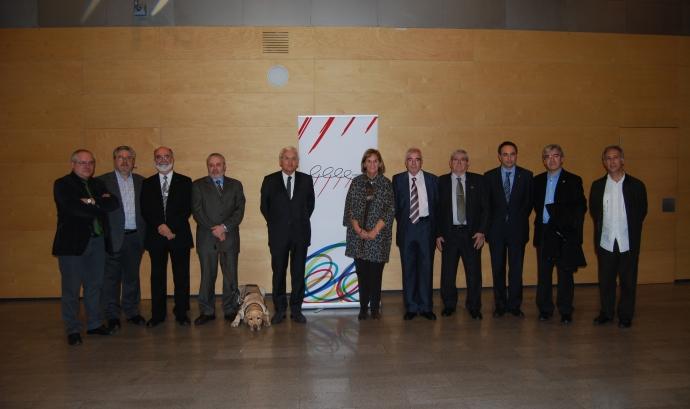 Imatge de les autoritats assistents a l'esdeveniment