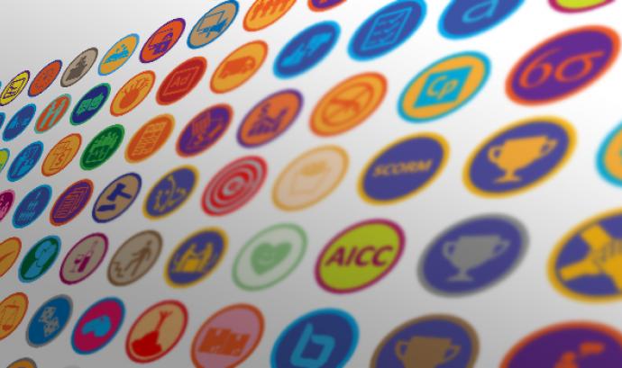 Open badges de Mozilla Font: