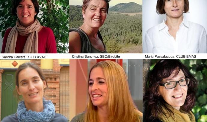 6 dones capdavanteres del tercer sector ambiental  Font: xvac