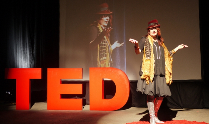 Imatge d'una xerrada TED Font: Urban_data