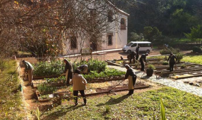 La masia del Jardí Botànic Històric és un espai emblemàtic per a l'associació