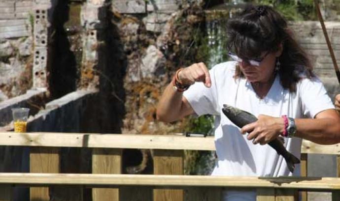 Anna Nebot és una propietària amb un acord de custòdia per la conservació de la natura i la biodiversitat
