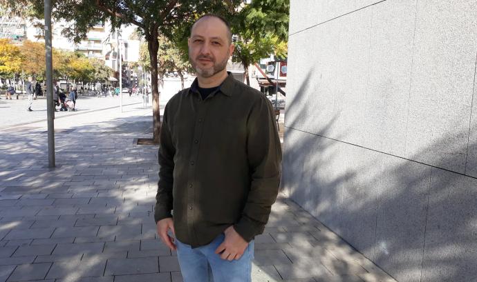 Carlos Álvarez, voluntari de la Fundació Arrels. Font: Fundació Arrels