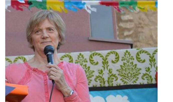 Carme Carrió, presidenta de l'Associació de Veïns i Veïnes de Les Escodines