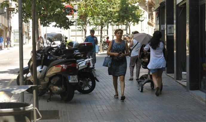Catalunya Camina defensa els drets de les persones vianants  Font: Catalunya Camina