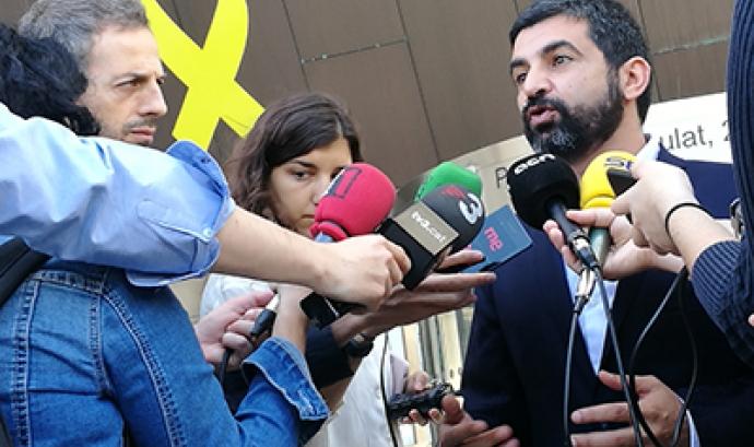 Chakir El Homrani és el nou conseller de Treball, Afers Socials i Famílies. Font: Gencat