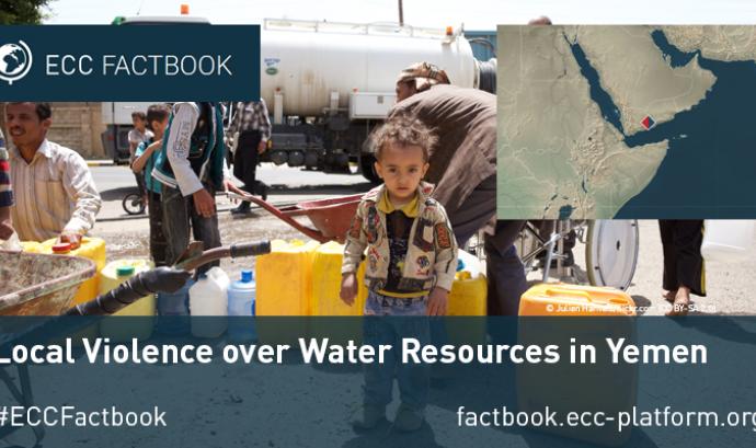 Conflicte per l'aigua al Yemen recollit en la plataforma ECC platform