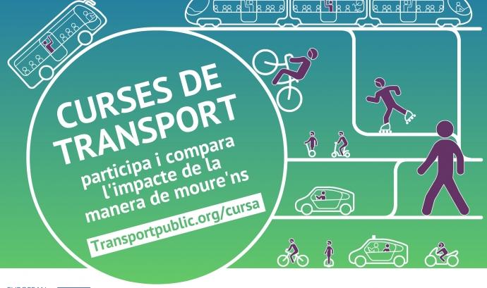Entre el 18 i el 27 de setembre es realitzaran 5 curses de transport Font: PTP
