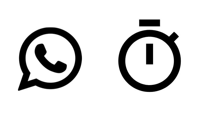 Els missatges de Whatsapp es podran autodestruir.  Font: Colectic