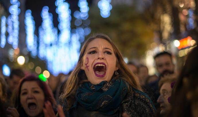Manifestació contra la violència sexual. Font: Adolfo Lujan, Flickr