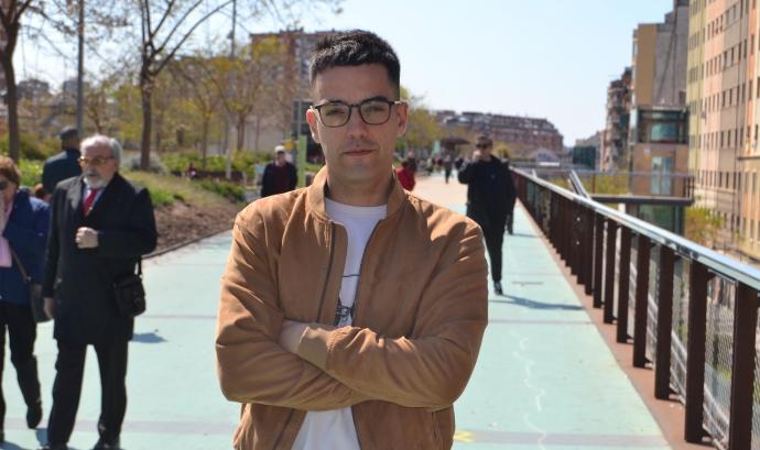 Xavi Rossinyol, periodista de TV3. Font: FCVS