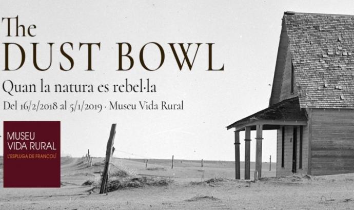 La taula rodona es relaciona amb la programació de la mostra 'The Dust Bowl. Quan la natura es rebel·la' Font: Museu de la Vida Rural