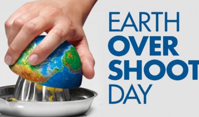 Un any més, la data del dia en que la humanitat ha acabat els recursos naturals que el planeta genera en un any, s'ha avançat. Enguany a l '1 d'agost.
