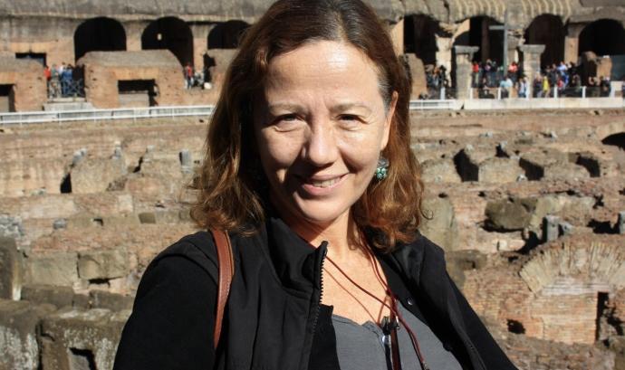 Susan Simón, delegada a Barcelona de l'Associació Auxilia. Font: Auxilia