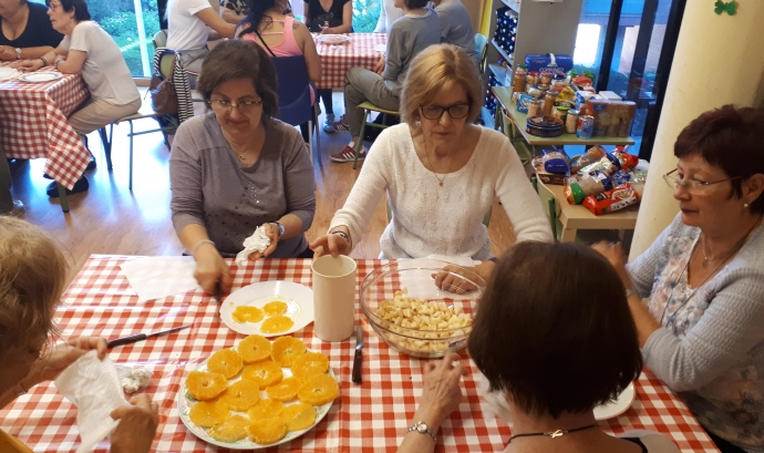 Tallers centres cívics malbaratament aliments Font: Fundació Banc dels Aliments