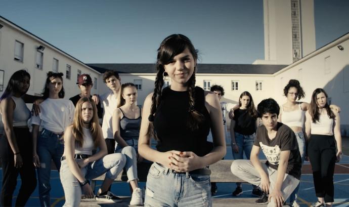 Protagonistes del vídeo de la cançó. Font: Projecte Home