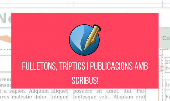 Imatge del recurs sobre Scribus Font: Associació per a Joves TEB