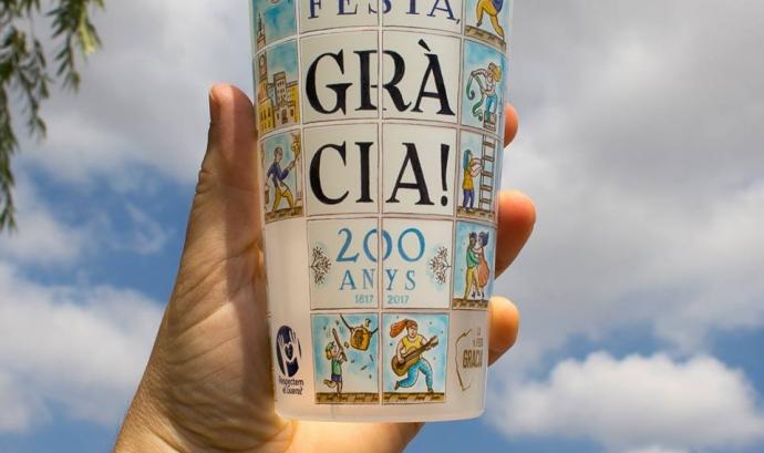 El got reutilitzable de la Festa Major de Gràcia Font: Festa Major de Gràcia