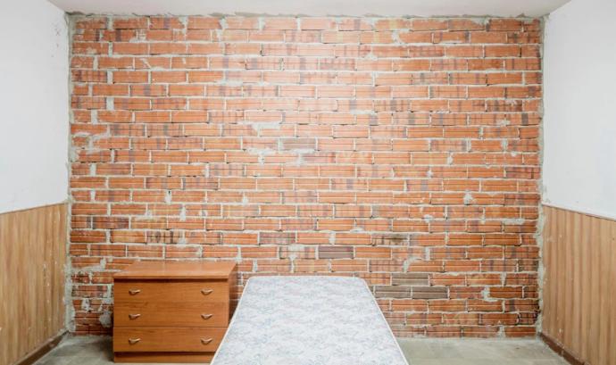 Interior de la futura Llar Casa Bloc per reconstruir. Font: Fundació Hàbitat3