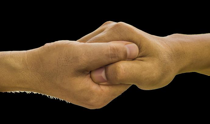 Mans unides per donar ajut