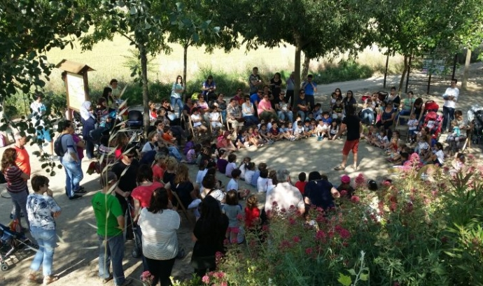 Juneda celebra el Dia Mundial del Medi Ambient unint natura i literatura amb infància