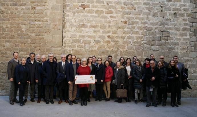 APARTUR ha donat 19.396€ al Casal dels Infants durant la campanya 'Check in Solidari'. Font: Casal dels Infants
