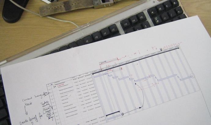 Les eines per gestionar projectes són eines molt completes que poden facilitar-vos la vida. Imatge de Iain Farrell. Llicència d'ús CC BY ND Font: Iain Farrell. Llicència d'ús CC BY ND
