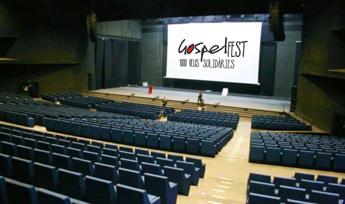 L'Auditori del Fòrum de Barcelona acollirà el GospelFest.