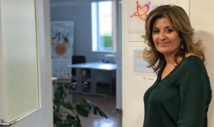 Eva Barta, presidenta de l'associació Salut Mental Ponent. Font: Salut Mental Ponent
