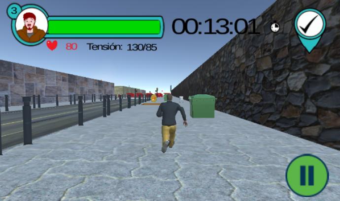 Captura de la imatge del joc Run4Fun
