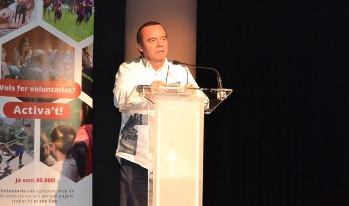 Jordi Balot, president de la Federació Catalana de Voluntariat Social. Font: Federació Catalana de Voluntariat Social