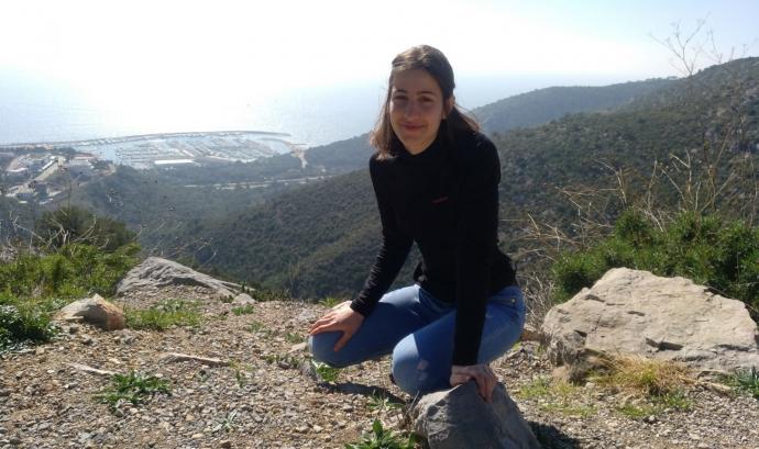 Maria Mercet és membre de Fridays For Future Barcelona Font: Maria Mercet