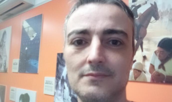 Miguel Ángel Román Mora, coordinador del Secretariat Gitano de Barcelona. Font: Secretariat Gitano de Barcelona