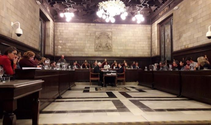 L'Ajuntament de Girona va aprovar per unanimitat aquest mes de gener declarar el muncipì 'Zona lliure de paradisos fiscals'. Font: Coordinadora d'ONG Solidàries