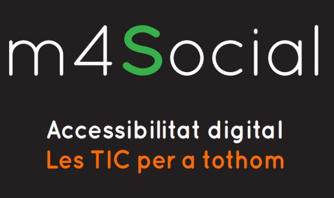 Portada de la Guia Accessibilitat Digital Font: m4Social