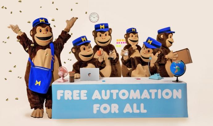 Imatge referent a la automatització de processos a mailchimp Font: Mailchimp
