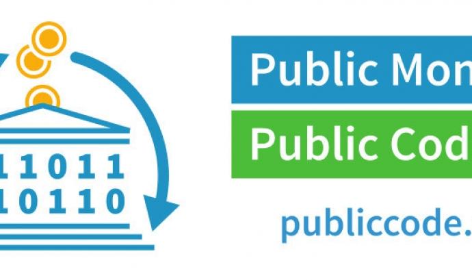 Campanya Public money, public code Font: Free Software Foundation Europe