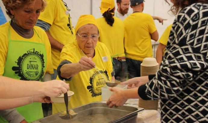 El 24 de novembre s'organitza un dinar d'aprofitament per 1000 persones