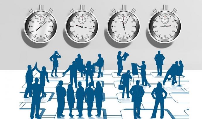 El registre de la jornada horària segueix sent obligatori per a les persones treballadores a temps parcial i per a les que facin hores extraordinàries. Pixabay  Font: Pixabay