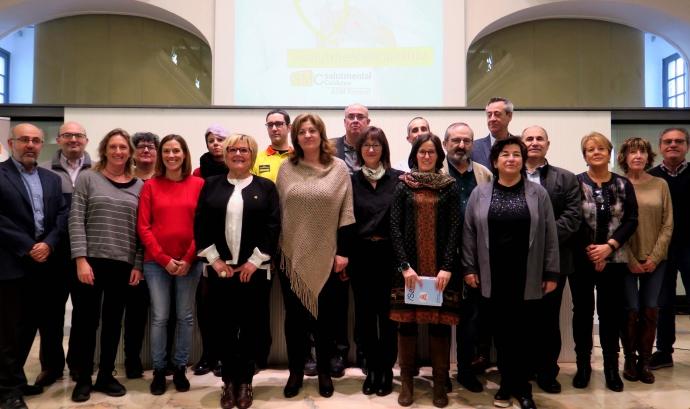 Membres de la Taula de Salut Mental de Lleida i el Segrià. Font: Paeria Comunicació