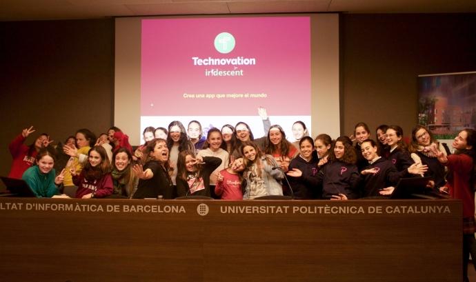 Presentació del Technovation a l'UPC Font: Esther Subias