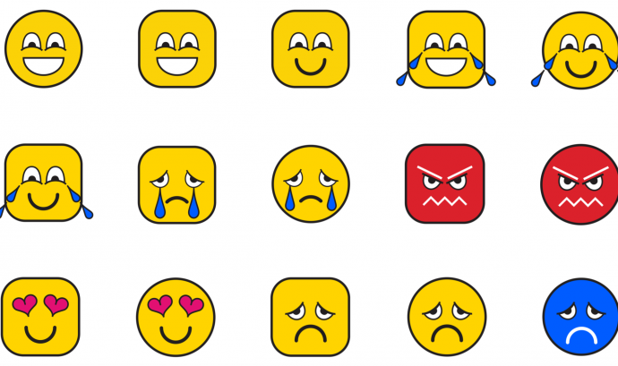 Actualment els emojis no són accessibles per a tothom. Imatge de We Are Social Font: We Are Social