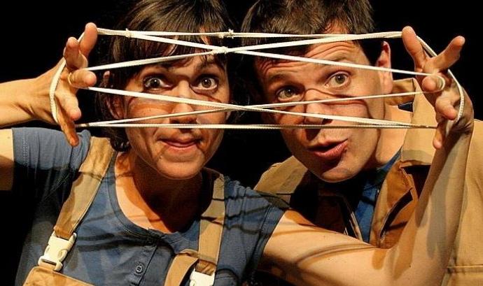 Ainoha Roca i Albert Requena de Xucrut Teatre Font: Xucrut Teatre