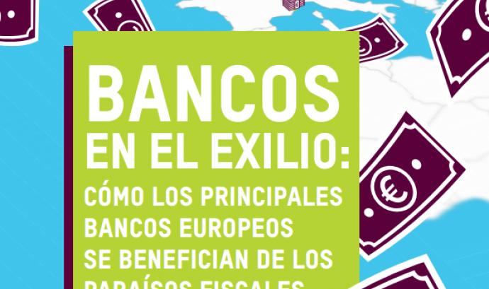 Portada de l'informe publicat el 27 de març. Font: Oxfam i Fair Finance Guide International Font: